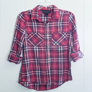 Red Plaid / Fannel Shirt